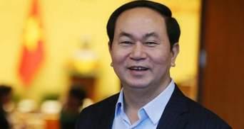 На 62-му році життя помер президент В'єтнаму