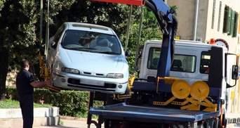 В Києві евакуйовуватимуть автомобілі за завищеним тарифом