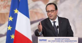 Олланд висловився щодо миротворців на Донбасі