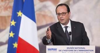 Олланд высказался по поводу миротворцев на Донбассе