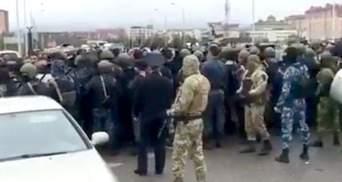 Протести в Інгушетії: поліція відкрила вогонь