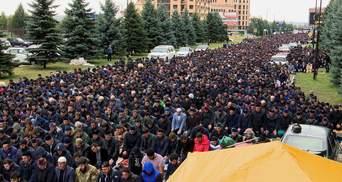 Протести в Інгушетії: мітингувальники висунули вимоги