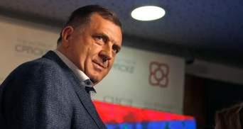 Лідер виборчих перегонів у Боснії та Герцеговині хоче визнати Крим частиною Росії