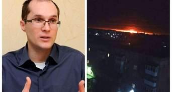 Взрывы на военных складах на Черниговщине – это очередная диверсия России, – журналист