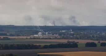 Ситуація на арсеналі біля Ічні: у Міноборони заявляють про зменшення інтенсивності вибухів