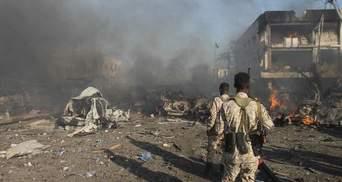 В Сомали двое смертников устроили теракт, есть погибшие