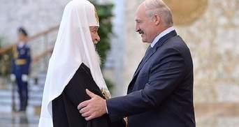 """В РПЦ поблагодарили Лукашенко за """"прекрасные"""" взаимоотношения власти и церкви"""