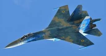 Після падіння від літака Су-27 лишився тільки шмат металу: розповідь очевидця