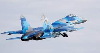 Падение самолета Су-27: стало известно имя одного из погибших пилотов