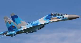 Падіння літака Су-27: на місці катастрофи знайшли чорну скриньку