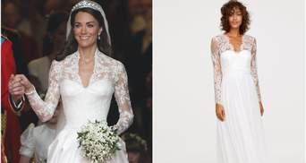 Свадебное платье как у Кейт Миддлтон можно приобрести за 200 долларов
