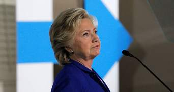 Автомобиль с Хиллари Клинтон попал в ДТП: видео
