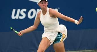 Украинка Лопатецкая неожиданно прошла во второй круг турнира в Канаде