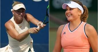 Украинки Козлова и Лопатецкая уверенно вышли в четвертьфинал на турнире в Канаде