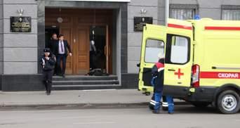 Вибух у ФСБ в Архангельську: з'явилось відео зсередини будівлі