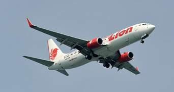 В Індонезії з літаком Lion Air знову трапилася надзвичайна ситуація
