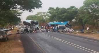 Смертельное столкновение автобусов: около 50 человек погибло в автокатастрофе в Зимбабве