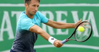 Стаховский остановился в шаге от полуфинала на турнире в Братиславе