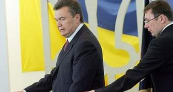 Луценко та соратники Януковича: якої відповідальності уникає генпрокурор