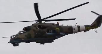 Українські військові потренувались бити з повітря по об'єктах противника на Донбасі: відео