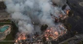 Пожежа у Каліфорнії: відома кількість зниклих людей