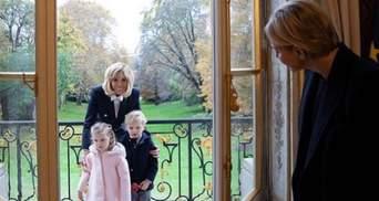 Королевская семья Монако гостит у Бриджит Макрон: трогательные фото