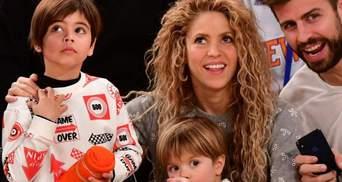 Шакира эмоционально отпраздновала гол сына: видео