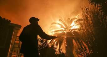 Пожежа у Каліфорнії: з'явилась нова інформація про кількість загиблих і зниклих безвісти