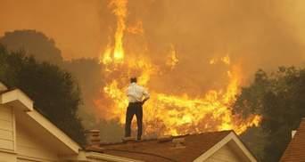 """""""Худший сценарий"""" для Калифорнии: после пожара людям угрожают потоп и оползни"""