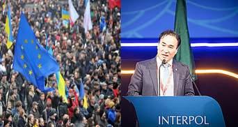 Головні новини 21 листопада: протести біля Будинку профспілок та обрання президента Інтерполу