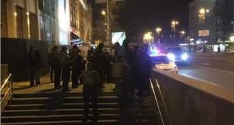 Протесты возле Дома профсоюзов: несколько активистов С14 задержали, но впоследствии отпустили