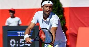 Стаховский уступил в четвертьфинале на престижном турнире в Италии