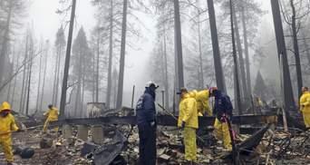 Масштабные пожары в Калифорнии: более 400 человек остаются пропавшими без вести