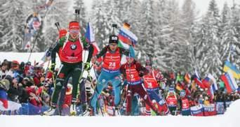 Украинские биатлонисты взяли бронзу в первой гонке этапа Кубка мира