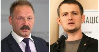 """Скандальный Барна устроил драку со """"свободовцем"""" в прямом эфире: видео"""