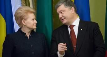 Ми отримуємо погрози від Росії. Непросто бути першими, хто вводить санкції, – президентка Литви