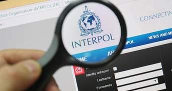 Интерпол объявил в розыск украинца, которому РФ приписывает обвинение в терроризме