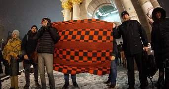 З ковдрами проти Насірова: у Києві влаштували протест проти поновлення на посаді екс-голови ДФС