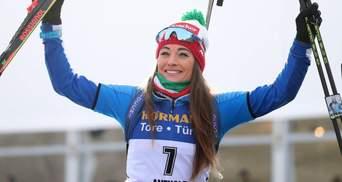 Биатлон: Вирер выиграла спринт в Хохфильцене, украинки провалили гонку