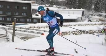 Прима опустился на 19 позицию в общем зачете Кубка мира по биатлону
