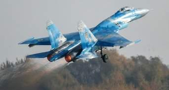 Падіння Су-27 на Житомирщині: у ЗСУ запевняють, що винищувач був новим, а пілот – досвідченим