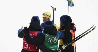 Биатлон: Шведам нет равных в эстафете, украинцы со слабой скоростью только 16-е
