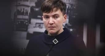 Після голодування мала зелений колір обличчя: у Надії Савченко почалися проблеми зі здоров'ям