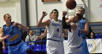 """Баскетбол: """"Одесса"""" прервала серию неудач и победила дома """"Днепр"""""""