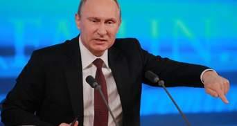 """""""Де тут логіка?"""": Путін відреагував на нові санкції США проти РФ"""