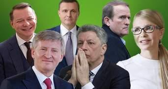 Кого из кандидатов в президенты финансируют украинские олигархи: неожиданный список