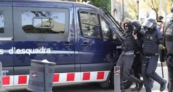 У Барселоні затримано 12 протестувальників, які збиралися застосувати коктейлі молотова