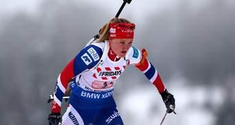 Биатлон: Олсбю победила в спринте, Вита Семеренко финишировала седьмой