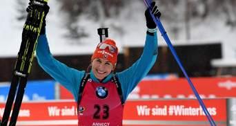 Биатлон: Кузьмина выиграла масс-старт в Нове-Место, две украинки в топ-20