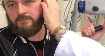 Дзідзьо з лікарняного ліжка привітав українців з Новим роком: відео